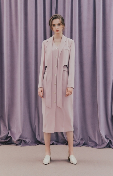 TWO-IN-ONE  JACKET DRESS(이선빈 착용)